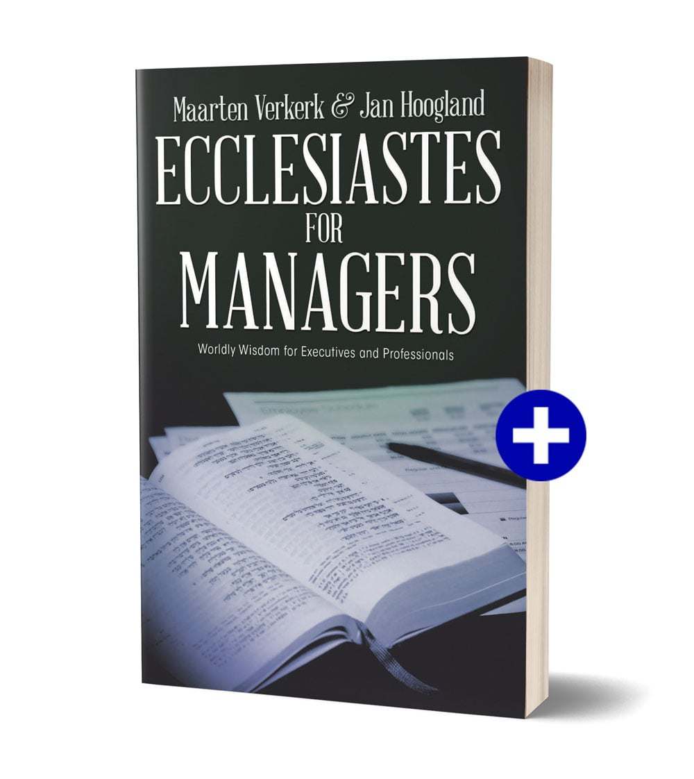Book cover 'Ecclesiastes for Managers